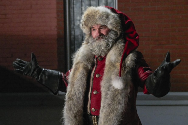 Kurt Russell em 'The Christmas Chronicles'