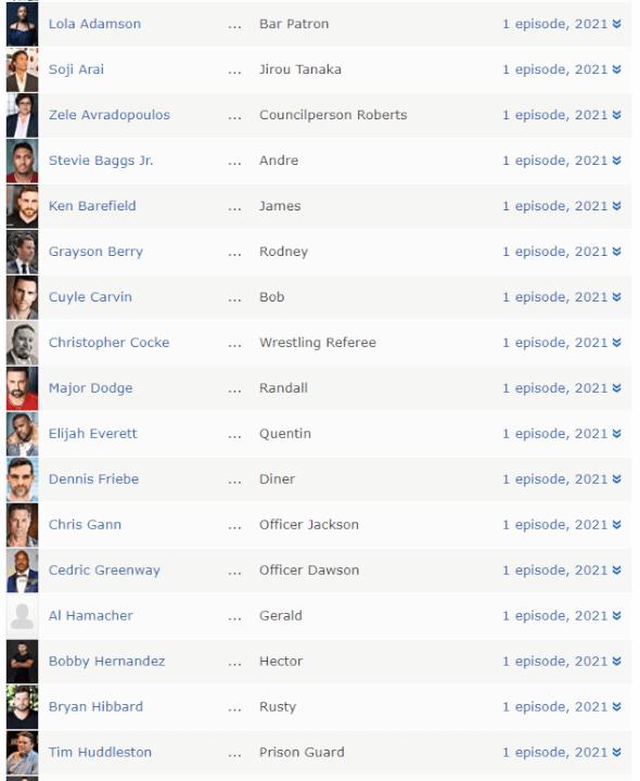 membros do elenco da terceira temporada de cobra kai