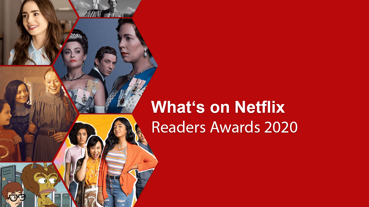 o que está no netflix Readers Awards 2020