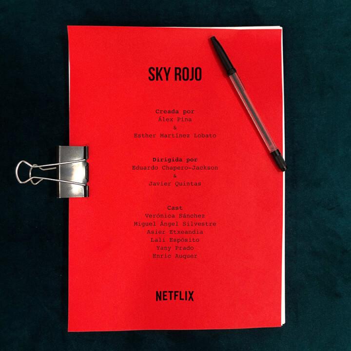 roteiro da primeira temporada do sky rojo