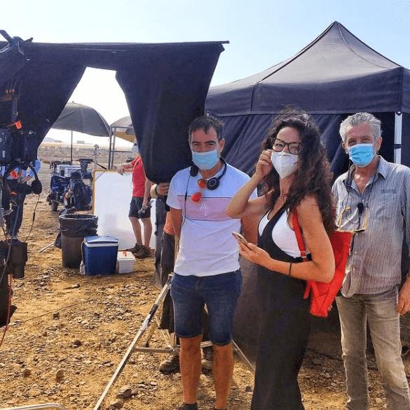 Desert Filming Sky Rojo temporada 1
