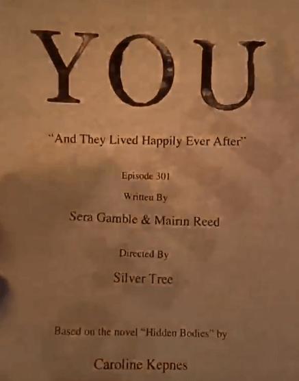 seu episódio 1 do roteiro da terceira temporada
