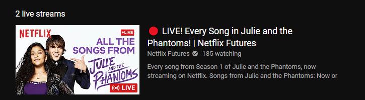 Transmissão de vídeo ao vivo de futuros da Netflix