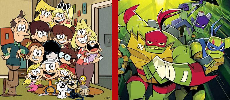 nickelodeon a alta casa de tartarugas ninja mutantes