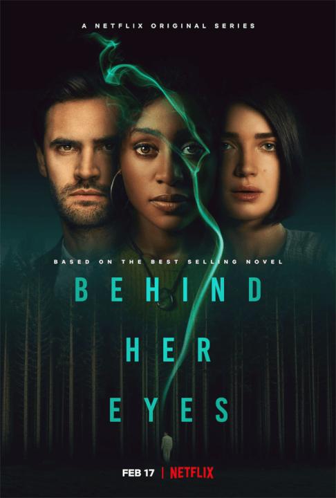 thriller psicológico por trás de seus olhos trailer do elenco da primeira temporada e pôster da data de lançamento do netflix