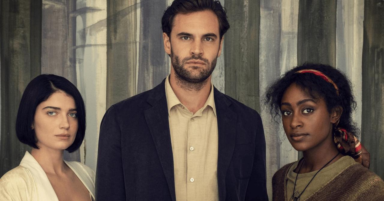 thriller psicológico por trás de seus olhos, trailer do elenco da primeira temporada e elenco da data de lançamento do netflix
