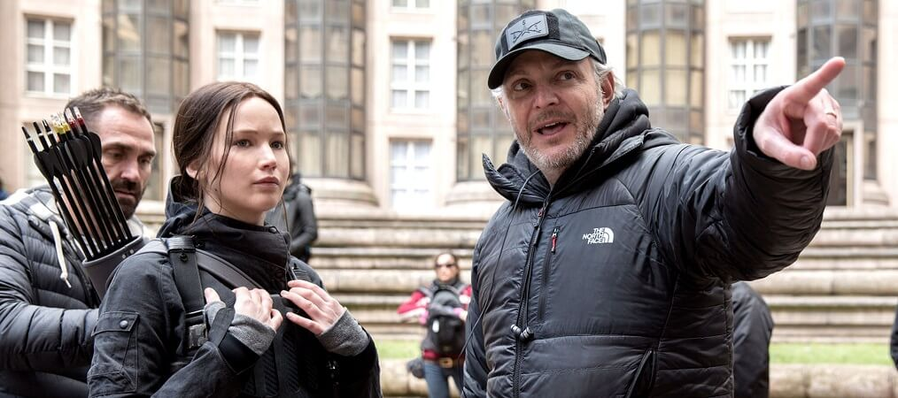 jennifer lawrence francis lawrence no set