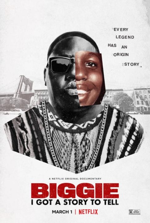 biggie, eu tenho uma história para contar vindo ao Netflix em março de 2021 pôster
