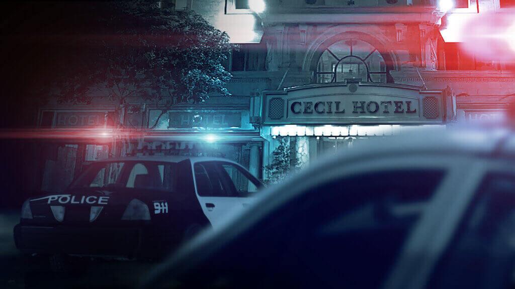 série netflix de cena do crime
