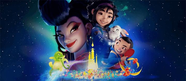 Over the Moon Top 50 filmes da Netflix, novembro de 2020