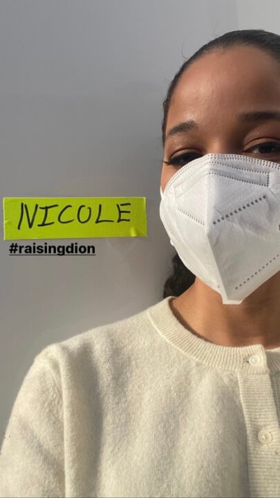 Nicole filma o levantamento de dion 2ª temporada