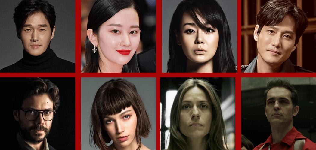 netflix adaptação coreana elenco de roubo de dinheiro