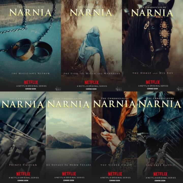 narnia fan made covers
