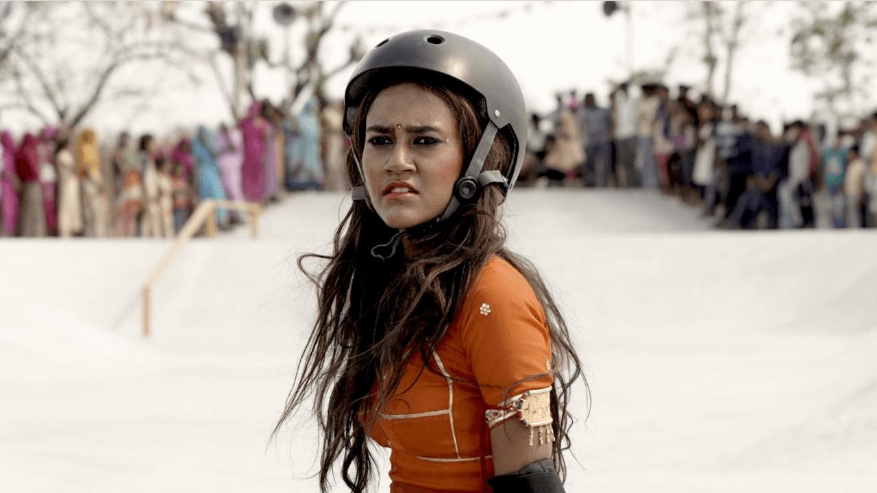 menina indiana patinadora do drama chegando à netflix em junho de 2021 rachel saanchita gupta