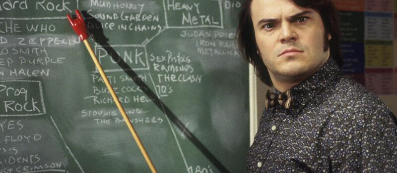 escola ou rock netflix