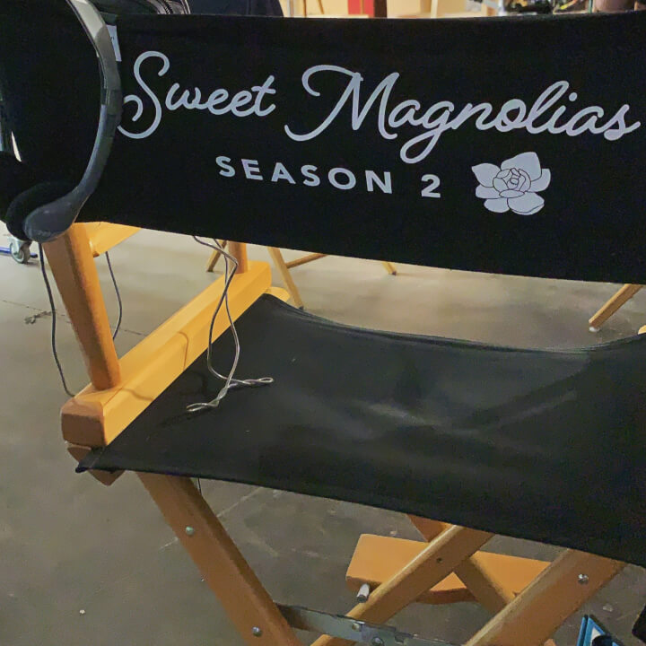 Sweet Magnolias Season 2 Film Seat