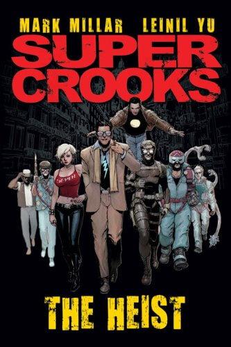 capa em quadrinhos do supercrooks