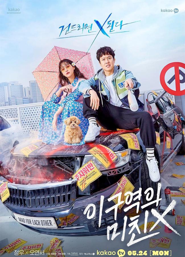 Netflix k-drama louco um pelo outro, 1ª temporada chega em maio de 2021, pôster 1