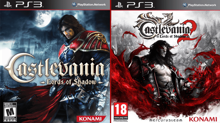 Videogame Lord of Shadows castlevania ps3