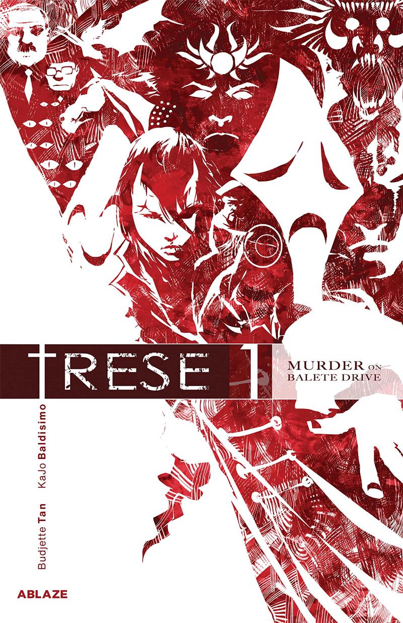 série de anime filipino trese 1ª temporada chegando ao netflix em junho de 2021 capa de mangá