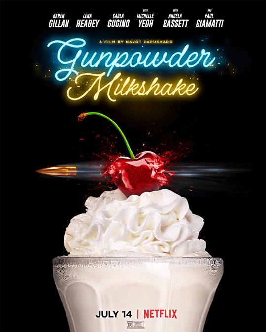 Ação Thriller Gunpowder Milkshake chega à Netflix em julho de 2021