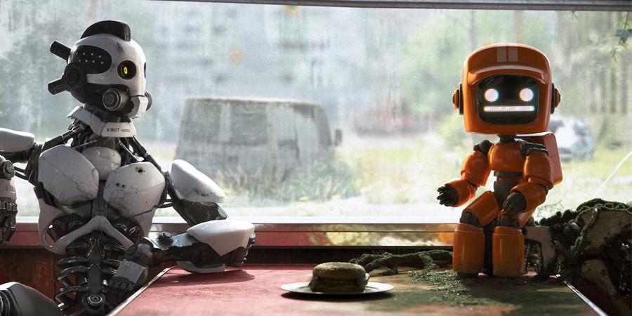 amor morte e robôs 3ª temporada, retorno de robôs