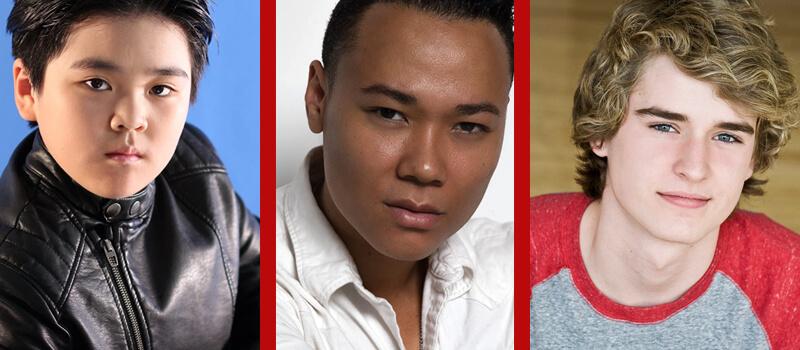 novos membros do elenco para a temporada perdida no espaço 3