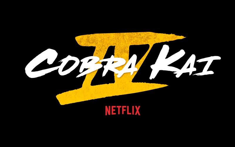 Logotipo da 4ª temporada de 'Cobra Kai'