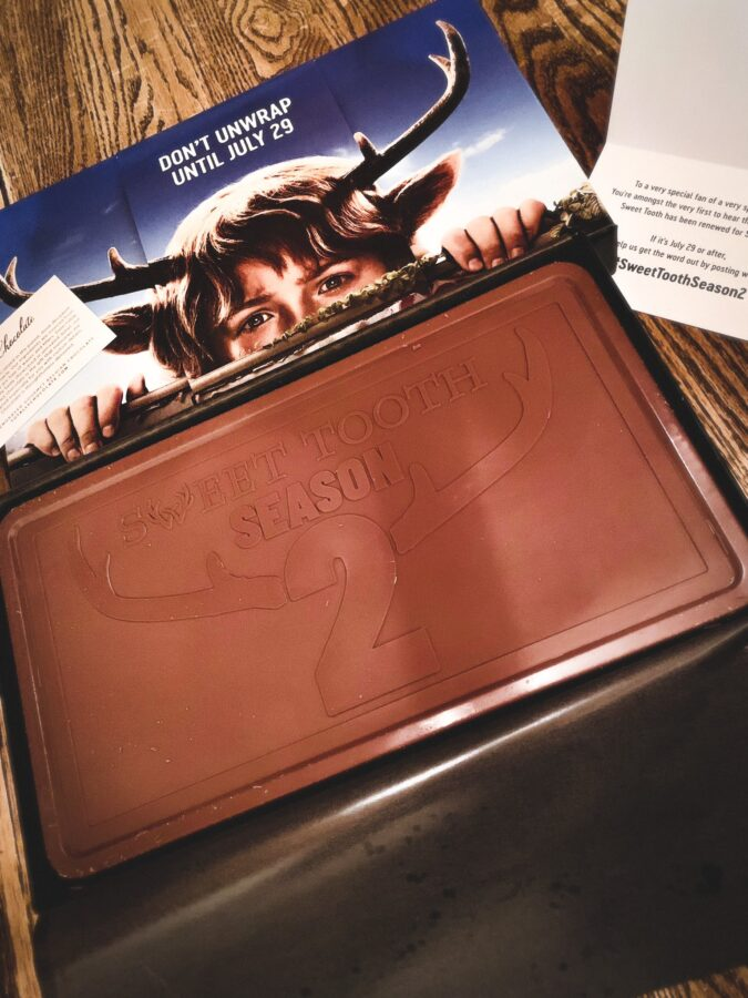embalagem de chocolate guloseimas da estação 2 netflix