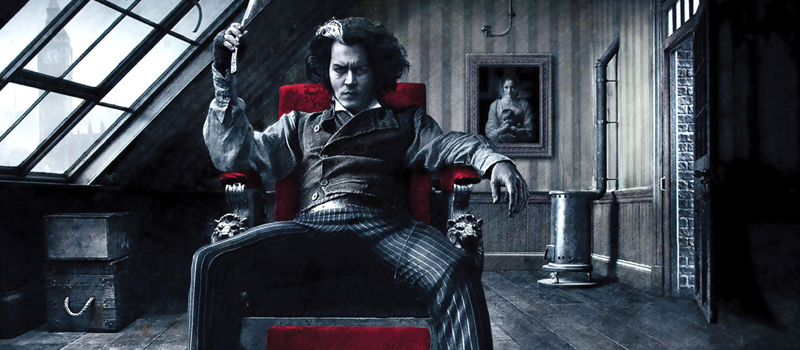 Sweeney tood demon cabeleireiro da Fleet Street