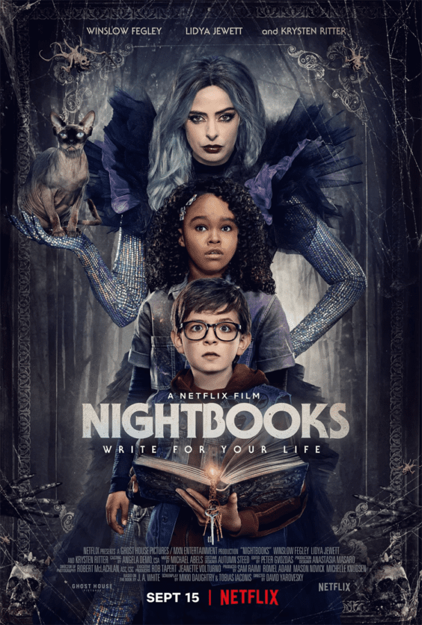 filme de terror e fantasia netflix de livros noturnos