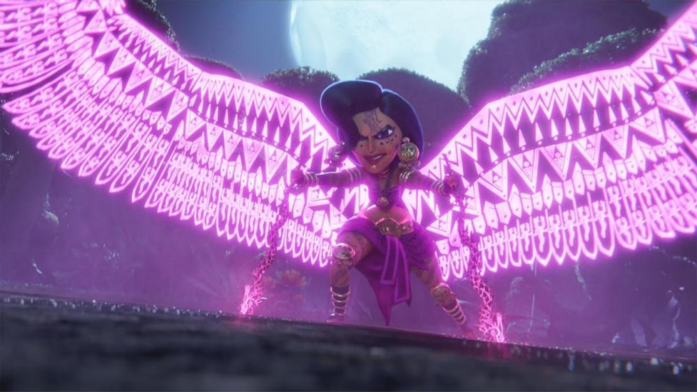 maya e as três deusa da minissérie animada da netflix