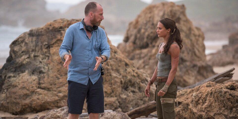 Roar Uthaug e Alicia Vikander filmam Tomb Riaider
