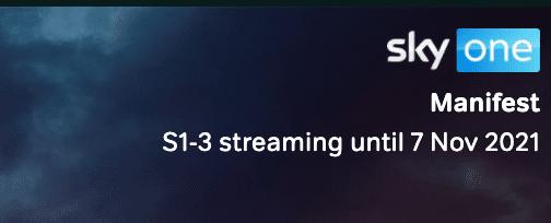 streaming de manifesto até novembro de 2021